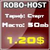 Robo-host.ru - автоматический хостинг